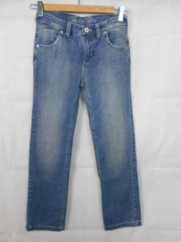 Blauwe jeansbroek Red&Blu mt 140