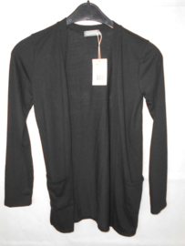 Zwarte cardigan Geisha mt 164
