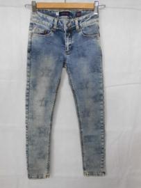 Blauwe jeansbroek Vinrose mt 140