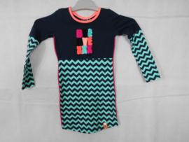 Donkerblauwe jurk B Nosy mt 86/92