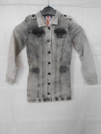 Grijze jeans vest Dutch Dream Denim mt 128