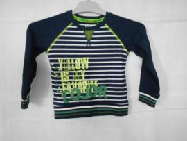Gestreept sweatshirt Quapi mt 146/152