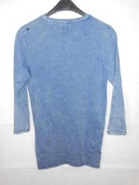 Blauwe tuniek GSUS mt 158/164