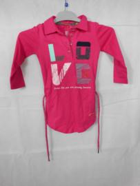 Roze jurk Quapi mt 86/92