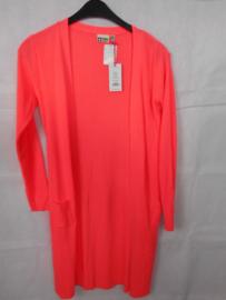 Oranje cardigan Tumbl n Dry mt 158/164