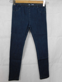 Donkerblauwe jeansbroek Filou&Friends mt 128