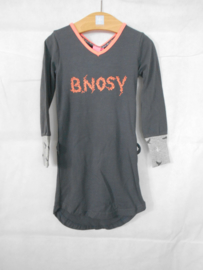 Donkergrijze jurk B Nosy mt 86/92