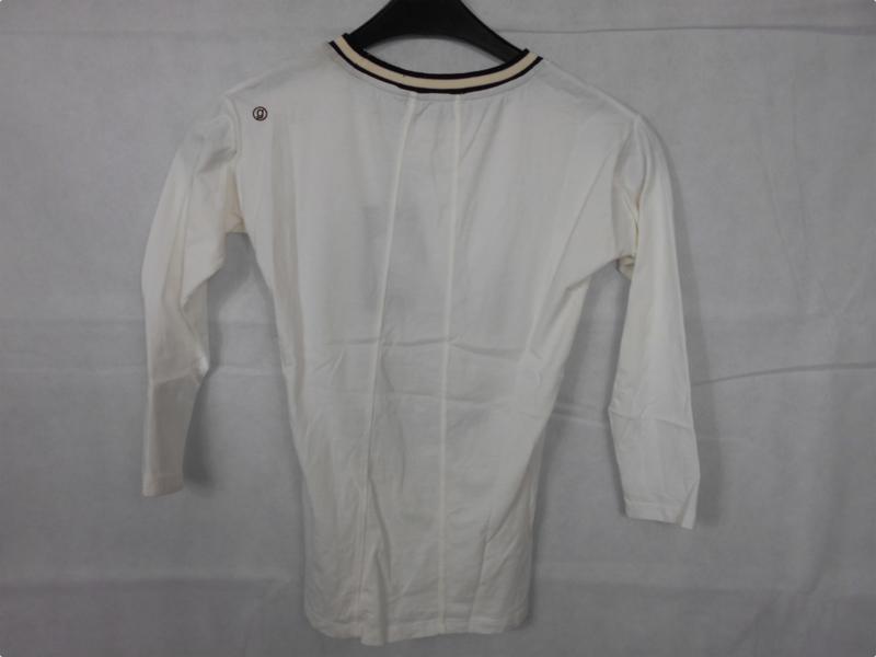Witte longsleeve GSUS mt 110/116