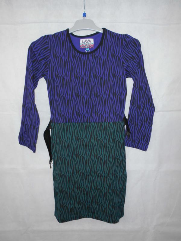 Gekleurde jurk LAVA mt 152