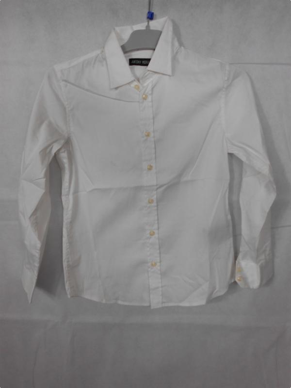 Wit hemd Antony Morano mt 128