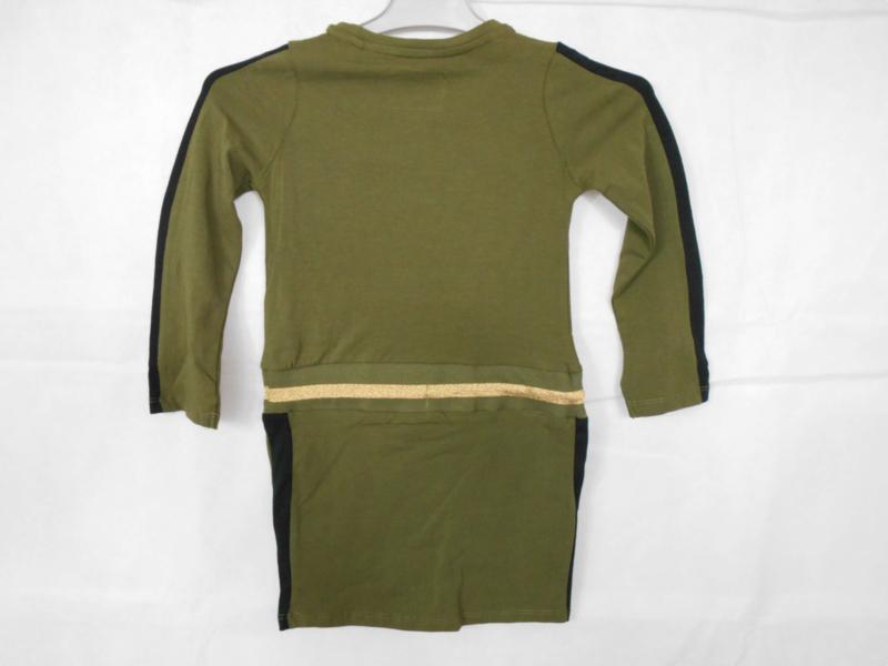 Groene jurk Cars Jeans mt 104