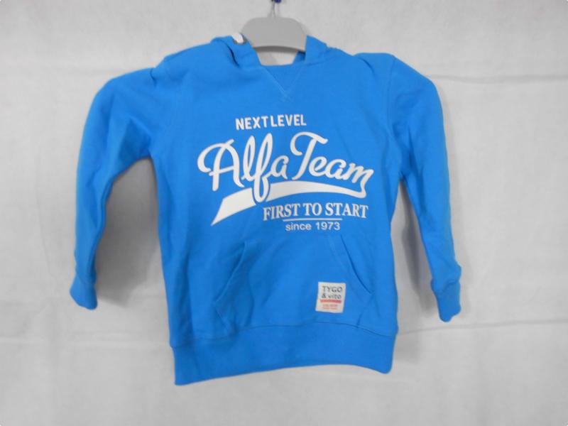 Blauwe sweater TYGO&vito mt 92
