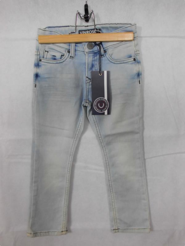 Lichtblauwe jeansbroek Vinrose mt 104
