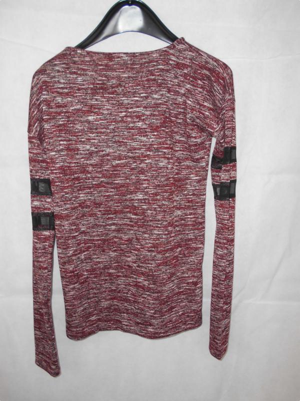 Bordeaux sweater Geisha mt 164
