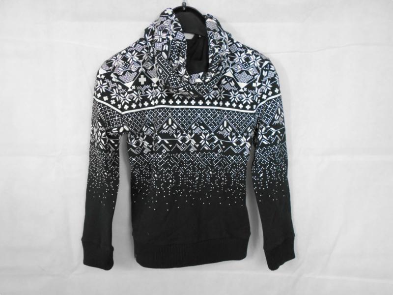 Zwart witte cardigan GSUS mt 122/128