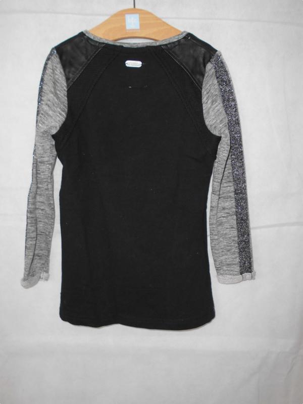 Zwart grijze tuniek Retour mt 104
