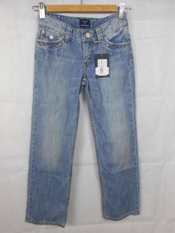 Blauwe jeansbroek Toby&Bennet mt 140