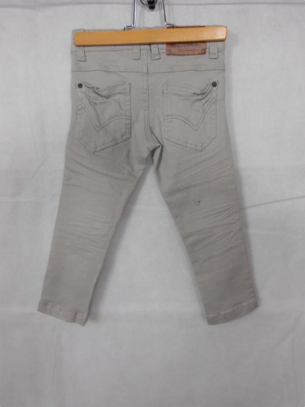 Lichtgrijze jeansbroek SomeOne mt 98