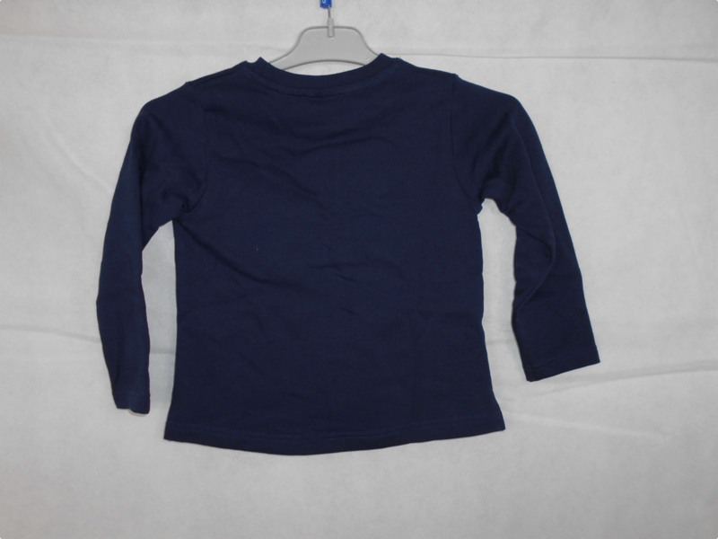 Donkerblauwe sweater Blue Seven mt 98