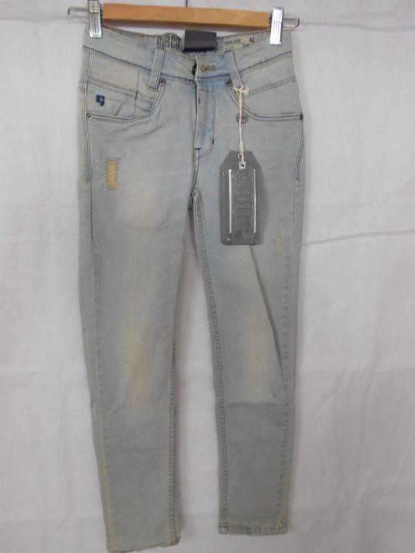 Lichtblauwe jeansbroek Garcia mt 134