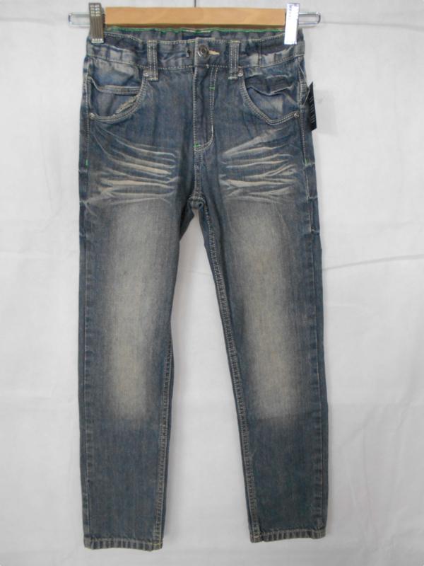 Blauwe jeansbroek Blue Seven mt 128