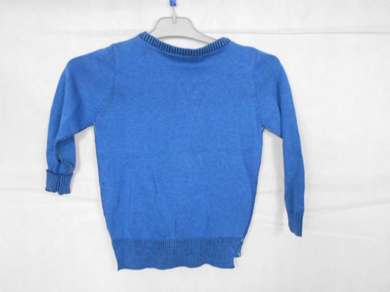 Blauwe trui Blue Seven mt 98