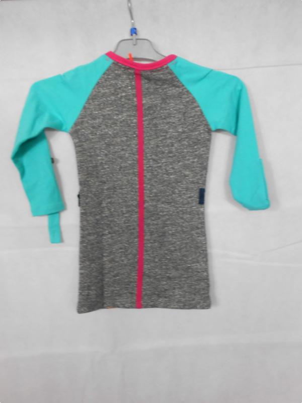 Groen grijze jurk B Nosy mt 86/92