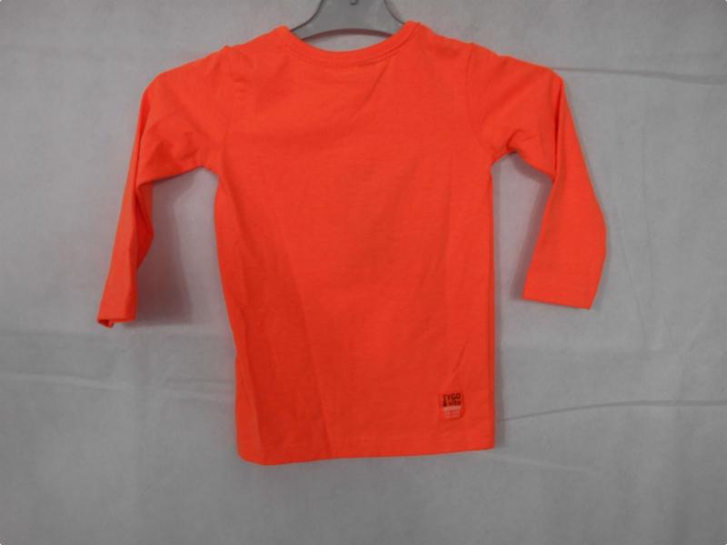 Oranje longsleeve TYGO&vito mt 92