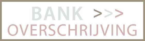 Betalen via bankoverschrijving
