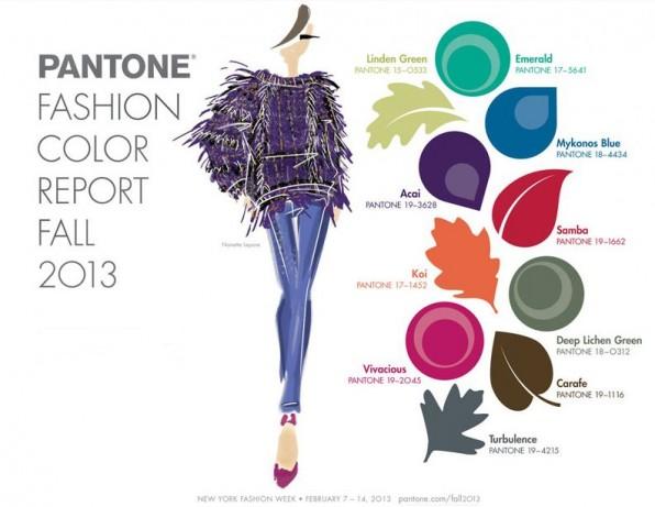 pantone najaarskleuren 2013