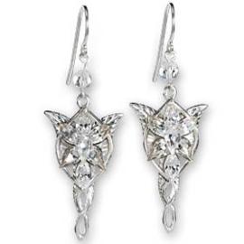 De lord Rings Movie Arwen Evenstar Crystal Earring