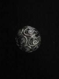Zilver-filigraan- kraal