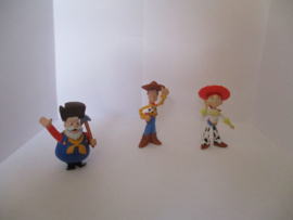 toy story woody en jessie en jumberjack