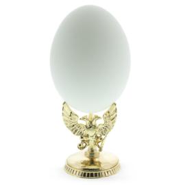 Three Headed Eagle Metal Egg Stand Holder