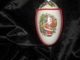 Christmas egg ornaments.