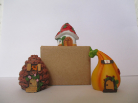 Huis Miniatuur Huis Fairy Huis padstoel