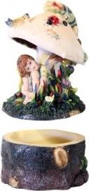 """Opbergdoosje """"Dry spot"""" by Sheila Wolk hg 13 cm"""