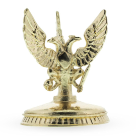 Three Headed Eagle Metal Egg Stand Holder