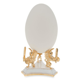 Imperial Gold Tone Metal Egg Stand Holder Display 2 Inches