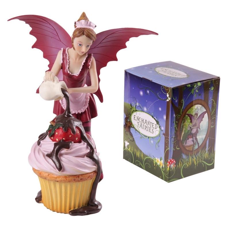 Roze Cupcake Fee