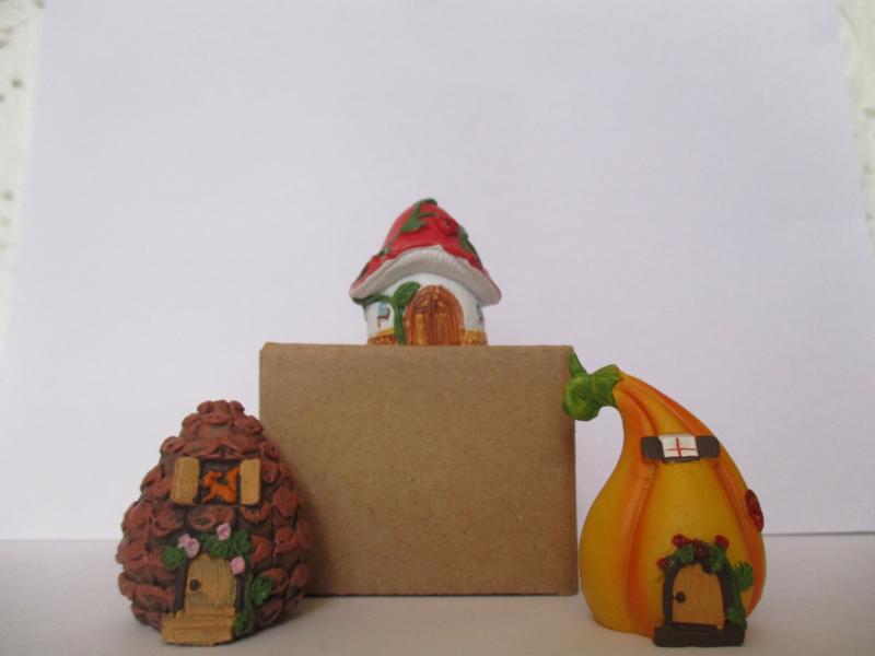 Huis Miniatuur Huis Fairy Huis eikel