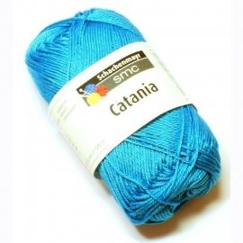 Catania katoen blauw