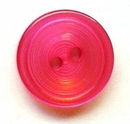 Knoop rozerood 14 mm