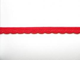 Elastisch Kant Rood breedte 12 mm.