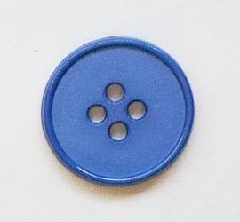 Knoop blauw 18 mm