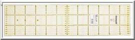 Omnigrid lineaal 15 x 60