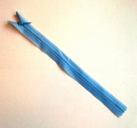 Blinde rits 22 cm Lichtblauw 13