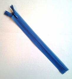 Blinde rits 22 cm Blauw 14