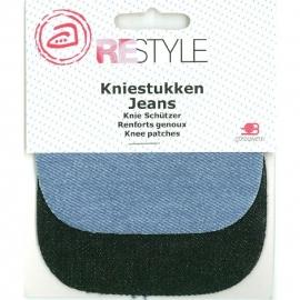 Kniestukken Jeans
