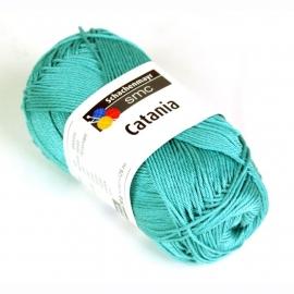 Catania katoen turquoise 253